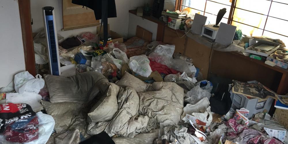 ゴミ屋敷整理イメージ画像